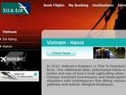 Abren ruta aérea Singapur - Hanoi