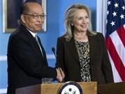 EE.UU. y Tailandia reafirman tradicional alianza