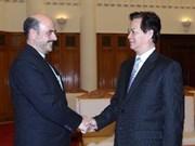 Premier recibe a embajadores de Irán y Mozambique