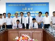 VNA, encargada de difusión imágenes de Quang Ninh