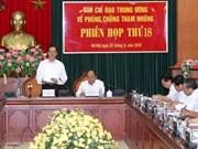 Fortalece Vietnam combate contra corrupción