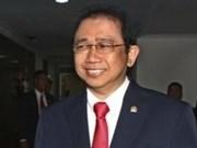 Dirigente parlamentario indonesio visitará Vietnam