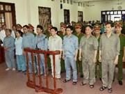 Ratifican sentencias en caso de corrupción de Vinashin