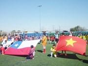 Chile: torneo de fútbol saluda fiesta nacional de Vietnam