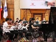 Inauguran Concurso Internacional de Piano en Hanoi