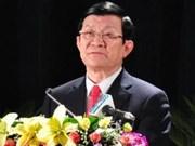 Presidente Truong Tan Sang participa en Cumbre de APEC