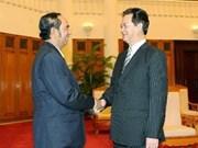Eficaz cooperación Vietnam-Cambodina en telecomunicación