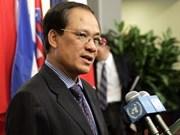 Vietnam asume cargo secretario general ASEAN