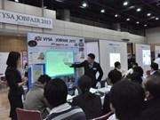 Feria de trabajo para jóvenes vietnamitas en Japón