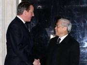 Hanoi y Londres refuerzan relaciones