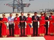 Inauguran puerto internacional en Vietnam