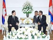 Vietnam y Cambodia intensifican relaciones