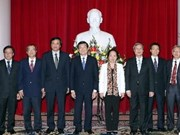 Actividades de dirigentes vietnamitas vísperas del Tet