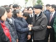 Dirigente partidista expresa deseos por Tet