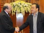 Vicepremier elogia apoyo de Banco Mundial