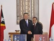 Indonesia y Timor Leste estrechan cooperación multifacética