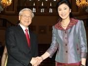 Vietnam y Tailandia establecen asociación estratégica