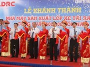 Inauguran fábrica de neumáticos radiales en Da Nang