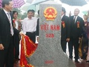 Cumplen Vietnam y Laos demarcación fronteriza