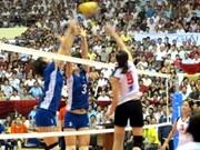 Equipo chino corona torneo de voleibol abierto vietnamita