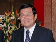 Presidente vietnamita inicia visita a Estados Unidos