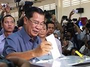 Partido gobernante cambodiano declara victoria electoral