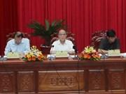 Presidente parlamentario urge desarrollo agrícola en Hau Giang