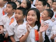 Veintidós millones de escolares inician curso en Vietnam