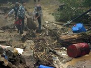 Graves pérdidas humanas por lluvias torrenciales en Lao Cai