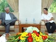 Director general de VNA recibe delegación partidista cubana