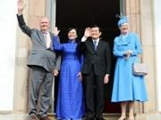 Presidente vietnamita de visita en Dinamarca