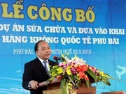 Inauguran aeropuerto internacional Phu Bai en Hue