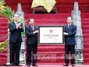 Reliquia Lam Kinh reconocida como patrimonio nacional especial