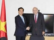 Premier con representantes de organizaciones de ONU