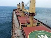 Rescatan a tripulantes del barco panameño Bright Royal