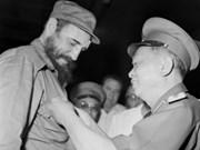 Pueblo cubano recordará siempre al general Giap, afirma Raúl Castro