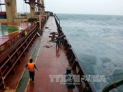 Ancla en Khanh Hoa barco panameño accidentado