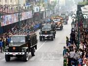 En fotos: ceremonia fúnebre de general Vo Nguyen Giap en Hanoi