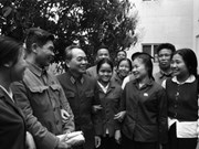En fotos sentimientos del general Vo Nguyen Giap con Thai Nguyen
