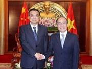 Vietnam y China trabajan por el fomento de nexos
