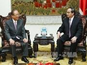 Elogian aportes de ex-ministro japonés a nexos Vietnam-Japón