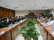 Delegación militar vietnamita visita Cuba