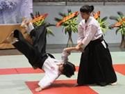 Arte marcial enriquece intercambio deportivo Vietnam-Japón
