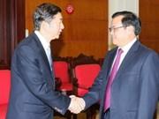 Partidos vietnamita y chino fomentan relaciones