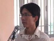 Condenan a Dinh Nhat Uy por infringir interés del Estado
