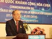 Conmemoran triunfo de la Revolución cubana