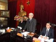 Líder partidista urge desarrollo agrícola en Thai Binh
