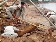 Solicita Quang Tri apoyo en superación de secuelas de bombas