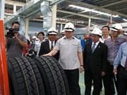 Inicia producción fábrica de neumáticos más moderna de Vietnam