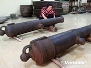 Descubren en provincia vietnamita cañones de siglo XIX